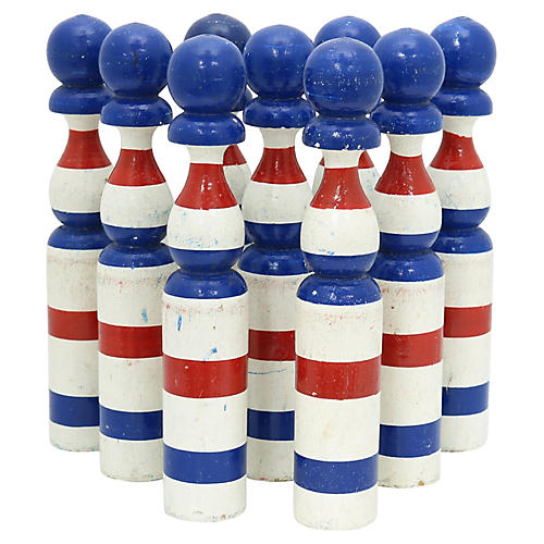 French Bowling Skittles, S/9