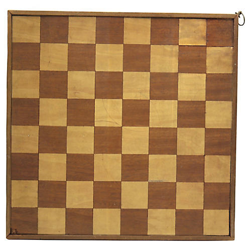 Antique English Game Board