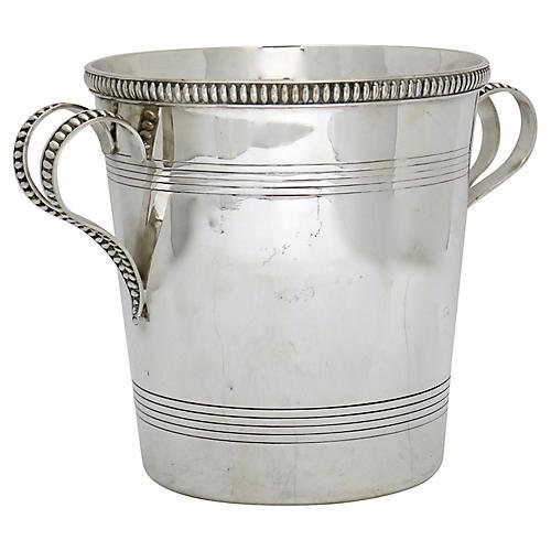 Art Deco French Champagne Bucket, C.1900