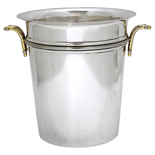 1950s French Art Deco Champagne Bucket