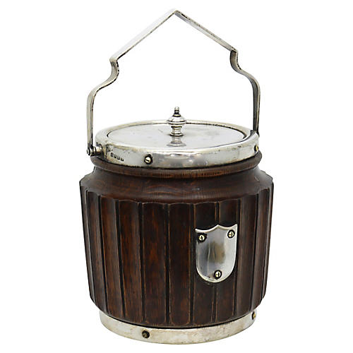 Antique English Arts & Crafts Ice Bucket