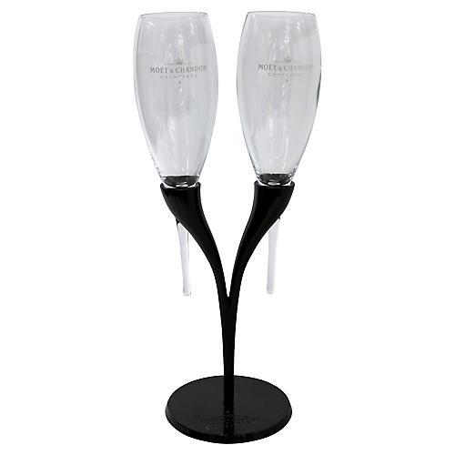 Moët Chandon Champagne Candelabrum