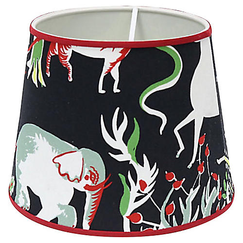 Vincent Darré Zoo Animals Lampshade