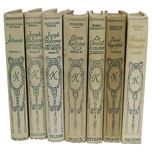 Antique French Classics, S/7