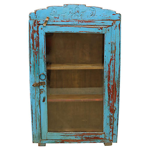 French Rustic Bathroom / Curio Cabinet