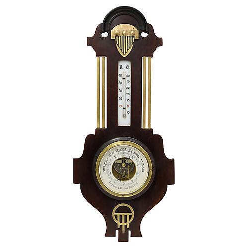 Art Deco Barometer