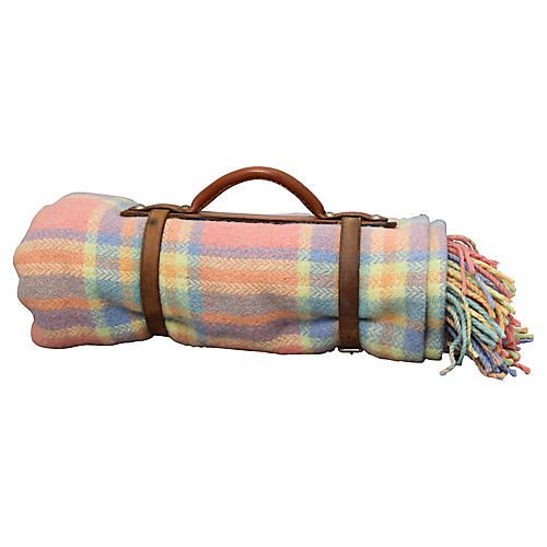 English Picnic Blanket w/ Carrier