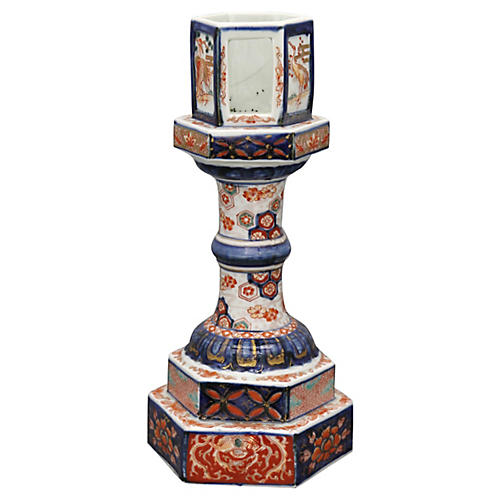 Antique Imari Lantern Base