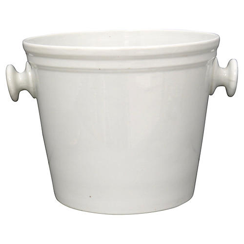 Antique French Porcelain Ice Bucket