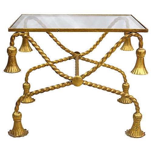 Mid-Century Italian Small Space Table