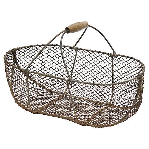 French Garden Basket