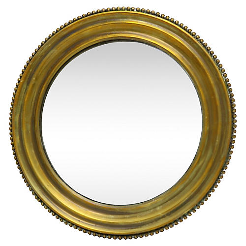 French Convex Wall Mirror