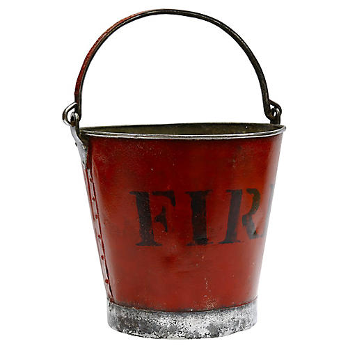 Antique English Fire Bucket