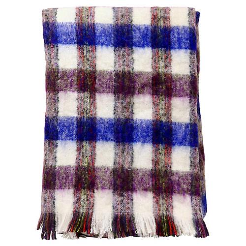 Hand-Spun Scottish Wool & Mohair Throw