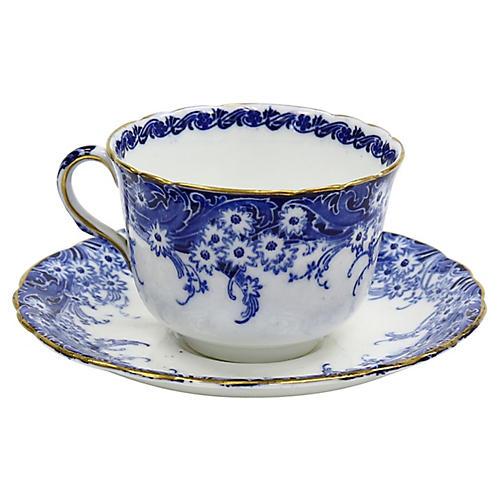 Antique Royal Doulton Cup & Saucer