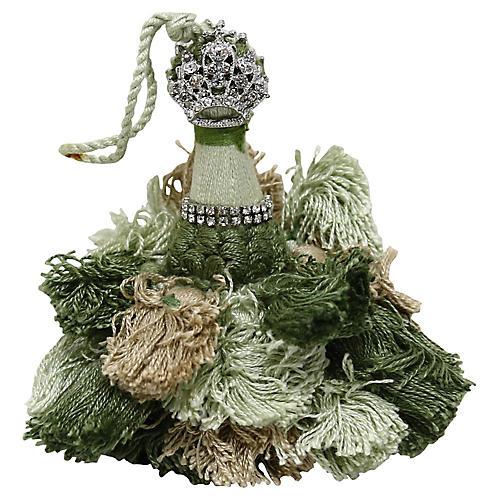 French Tassel w/ Crown Ornament