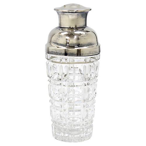 Val Saint Lambert Cocktail Shaker