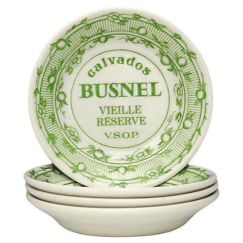 Gien French Bistro Snack Bowls, S/4
