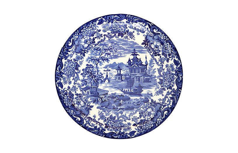 Antique Wedgwood Round Platter
