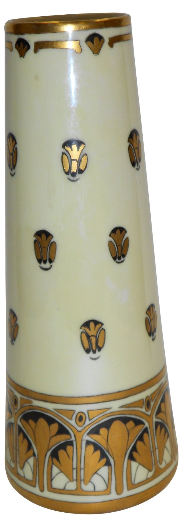 Porcelain Hand-Painted Vase