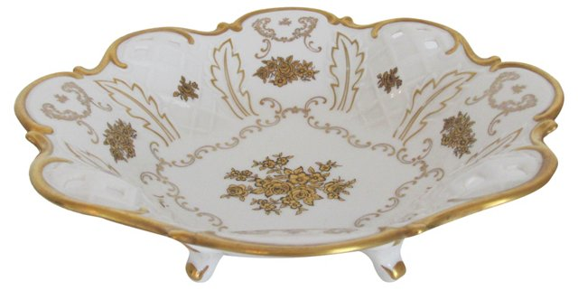 German Porcelain Bowl