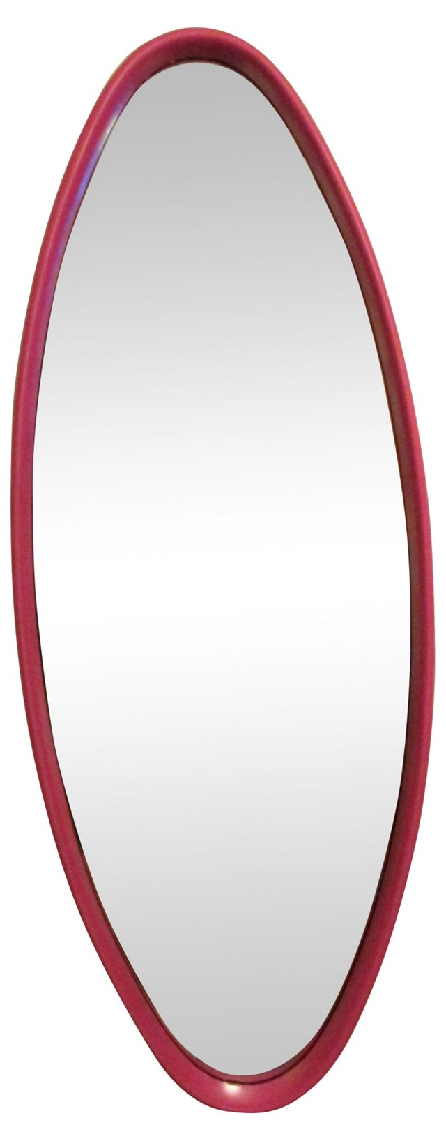 Pink Oval Mirror