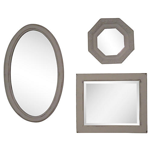 White Washed Mirrors, S/3
