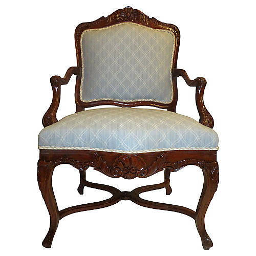 French Louis XV-Style Chair