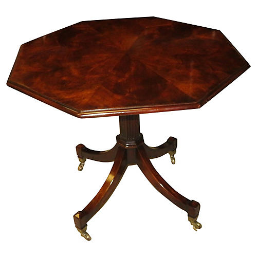 Flamed Mahogany Bistro Table