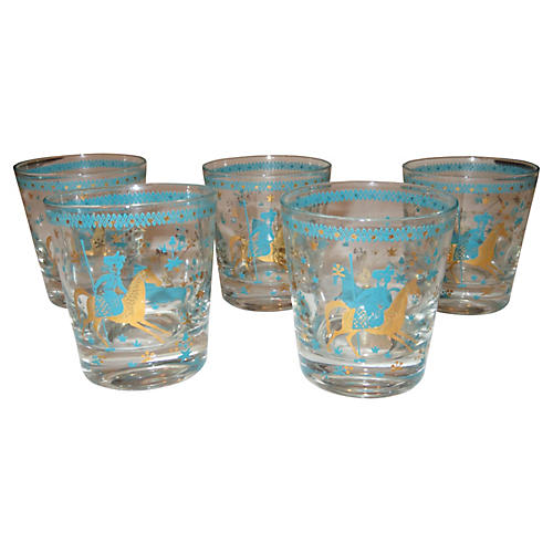 Cinderella Glasses S/5