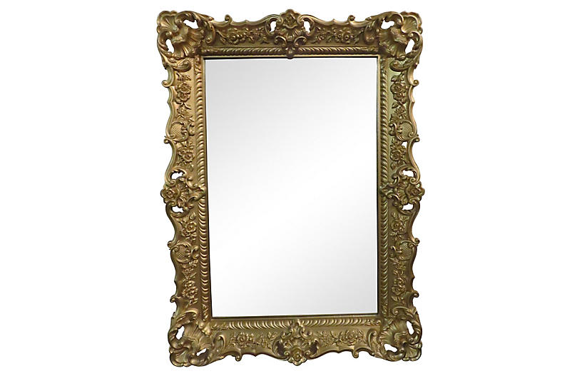 Midcentury Wall Mirror