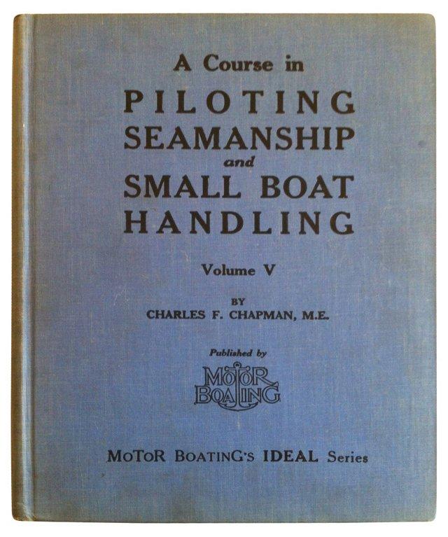Piloting & Seamanship, 1935
