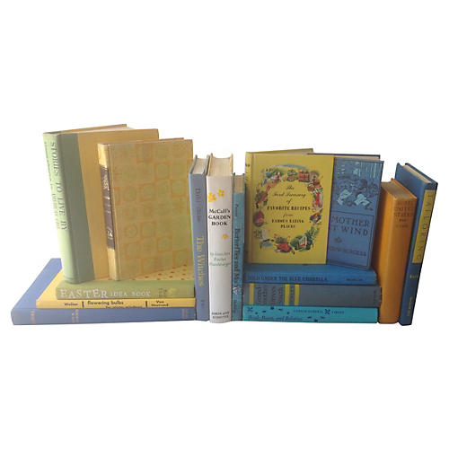 Blue & Yellow Book Collection, S/15