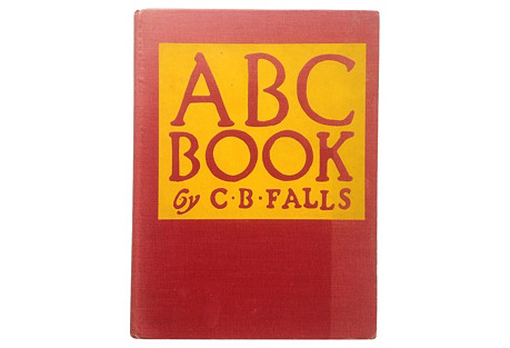 ABC Book, Art Deco Woodcuts