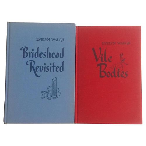 Brideshead Revisted & Vile Bodies, Pair