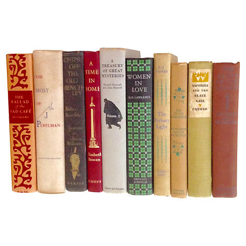 Decorative Literature Collection, S/10