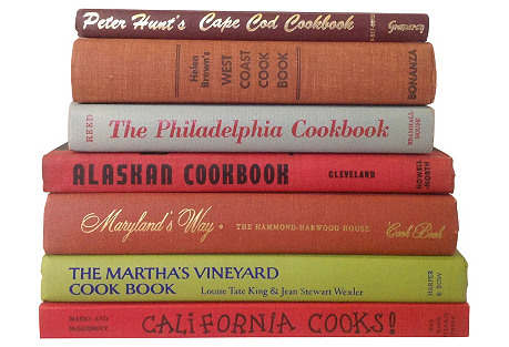 American Regional Cookbooks, S/7