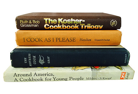 Black & Tan Cook Books, S/4