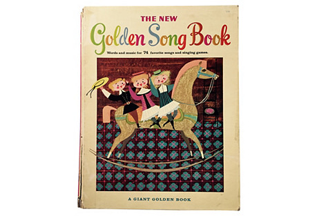 New Golden Song Book, 1955 Mary Blair