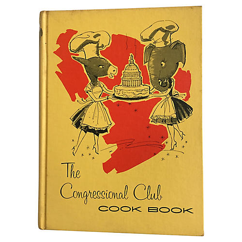 Congressional Club Cook Book, 1961