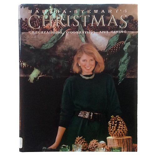 Martha Stewart's Christmas, 1989 1st Ed.