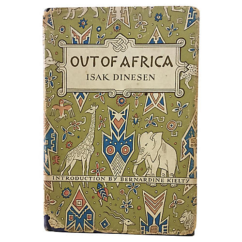 Out of Africa, 1952 Modern Library Ed.