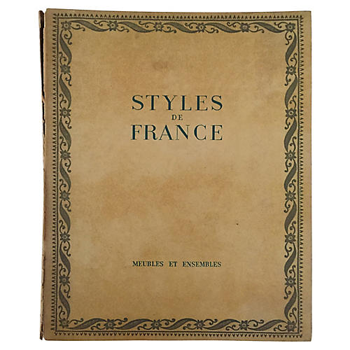 Styles de France: 1610 to 1920
