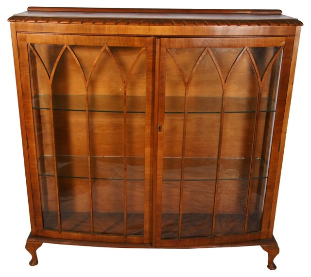 Gothic Fretwork Display Cabinet