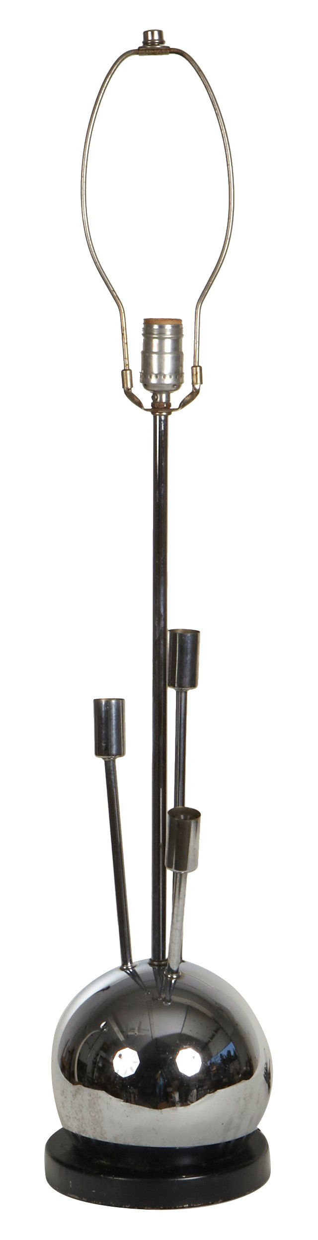 Mid-Century Modern Chrome Lamp