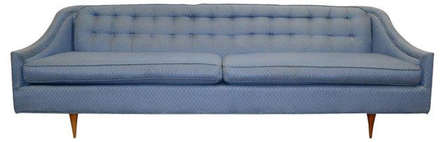 Curved-Arm Sofa