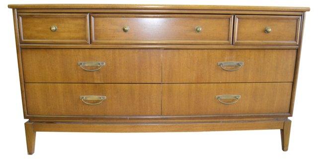 Midcentury Low Dresser by Stanley