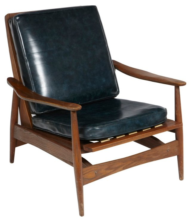 Italian Rocking Lounge Chair
