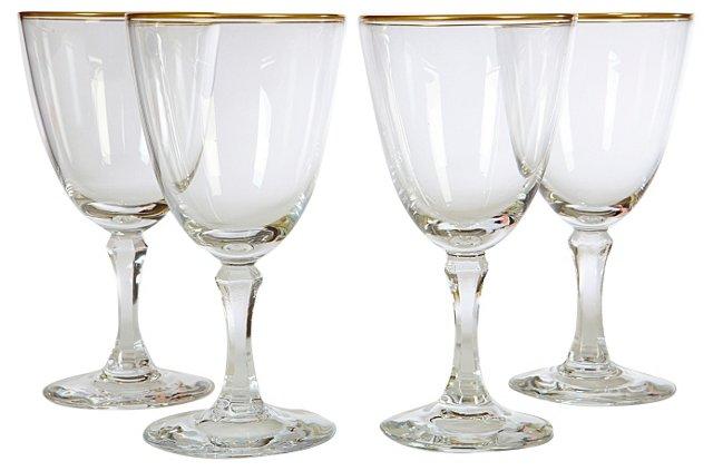 Lenox Wine Goblets, Set of 4