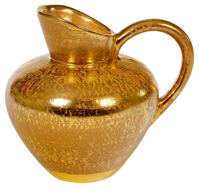 Stangl Pottery Gilt Ewer